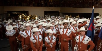 """UT-Austin's Longhorn Band will be forced to play """"The Eyes of Texas"""" song that's become a source of fierce division"""
