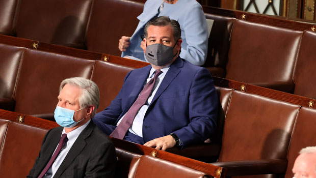 Ted Cruz Roasted On Twitter After He's Spotted Dozing During Biden's Speech: 'Dreamin' Of Cancun'