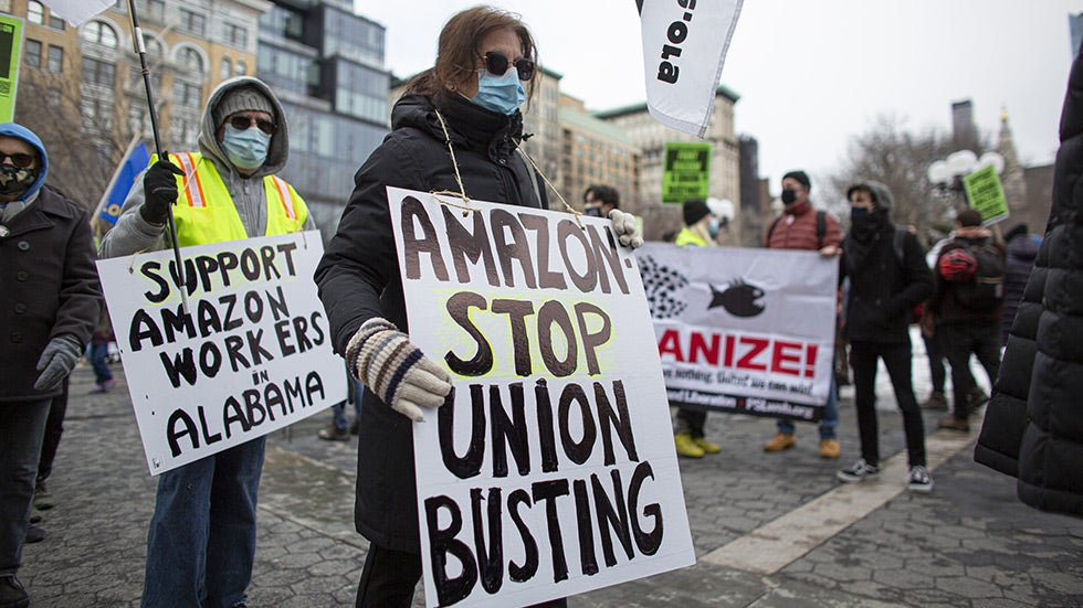 Hillicon Valley: Amazon wins union election — says 'our employees made the choice'