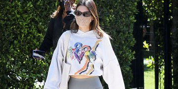 Over 4,000 People Swear By This Cropped Sweatshirt For Working Out Like Kendall Jenner