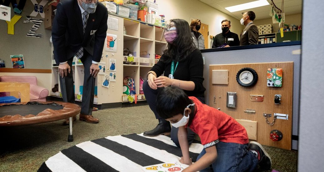 Fed Up With Remote Learning, Governors Make a Push to Reopen Schools