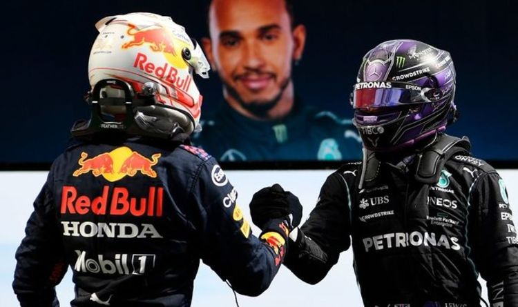Lewis Hamilton on the 'split second' that saw Max Verstappen capitalise in Portugal
