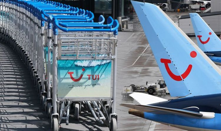 TUI to fly from just four airports amid 'traffic light' rules – more holidays cancelled