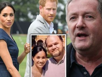 'Staggering hypocrisy!' Piers Morgan fumes at Meghan Markle for book about father-son bond