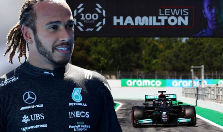 Lewis Hamilton 'ecstatic' with 100th pole position at Spanish GP – 'Feels like my first'