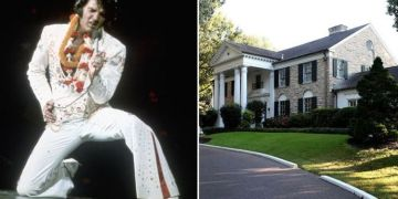 Elvis Presley: Graceland's unseen rooms – Inside bedroom Aunt Delta used when tours began
