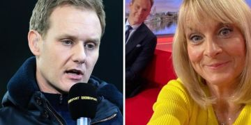 Dan Walker in brutal Freddie Mercury jibe about Louise Minchin's outfit on BBC Breakfast