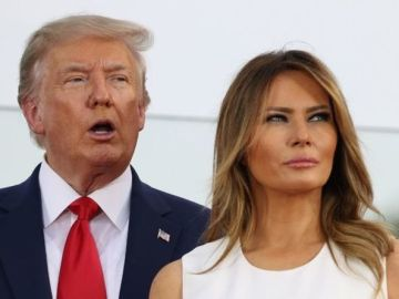 Melania Trump 'does what she wants' as Donald jets off to New Jersey without wife