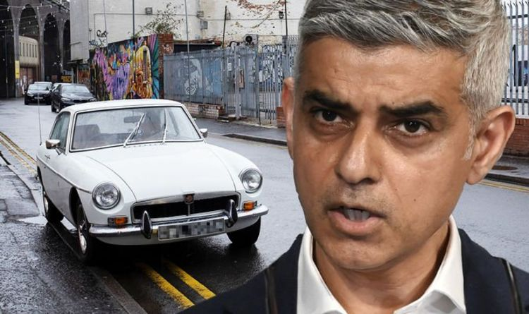 Classic cars could be 'scrapped' ahead of Sadiq Khan's ULEZ expansion