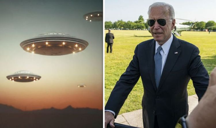 Joe Biden knows about the existence of aliens and UFOs claims conspiracy theorist