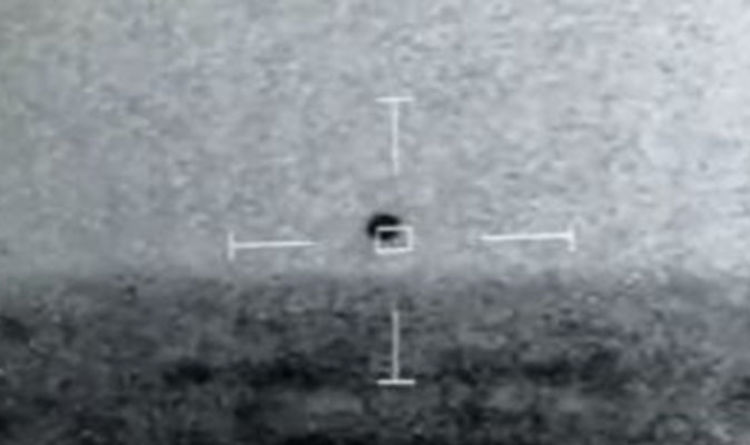 UFO sighting: Leaked footage shows 14 'crafts' swarm US Navy boat ahead of Pentagon report