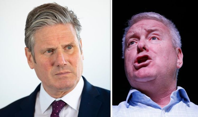 Keir Starmer's furious Brexit clash with Corbynite MP: 'F***ing try that again!'