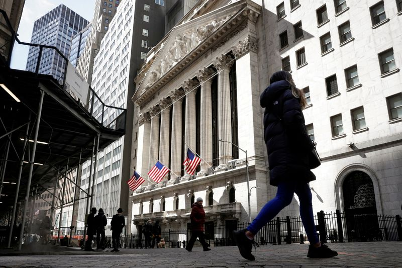 U.S. stocks drop after Fed minutes, crypto fall