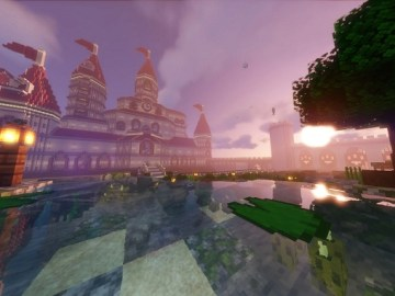 Minecraft Version Of Peach Castle