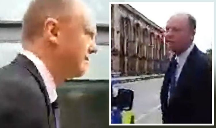 'Appalling' Tory MP leads fury as Chris Whitty is harassed in street by 'vile' anti-vaxxer