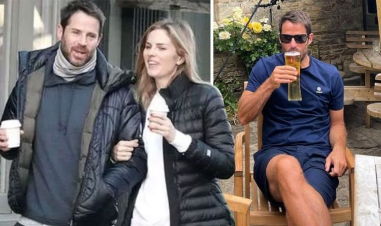 Jamie Redknapp enjoys loved-up getaway with pregnant partner Frida following baby news