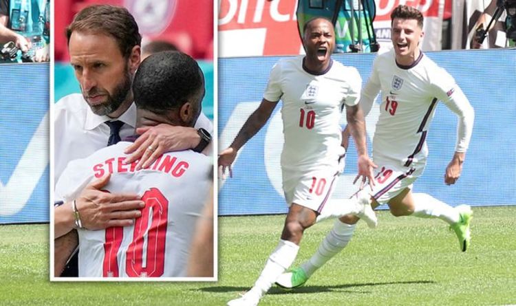 Raheem Sterling fires England to victory over Croatia in opening Euro 2020 clash