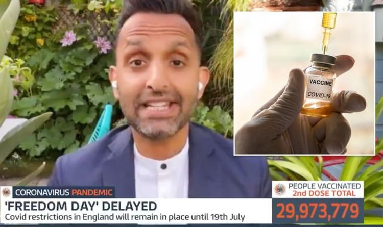 'It can't just be about the vaccine' Dr Amir slams reliance on jab to save UK from Covid