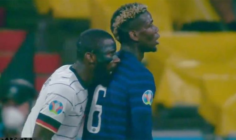 Antonio Rudiger's 'disgusting' pre-match comments may harm Paul Pogba biting defence