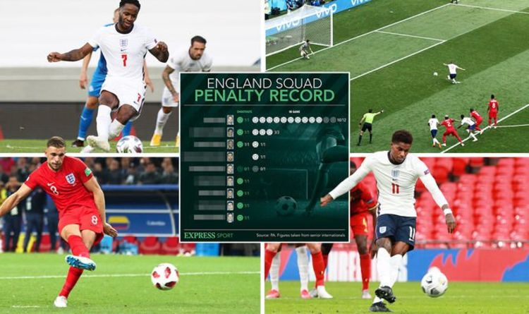 England squad's penalty record ahead of Germany as Jordan Pickford could take spot kick