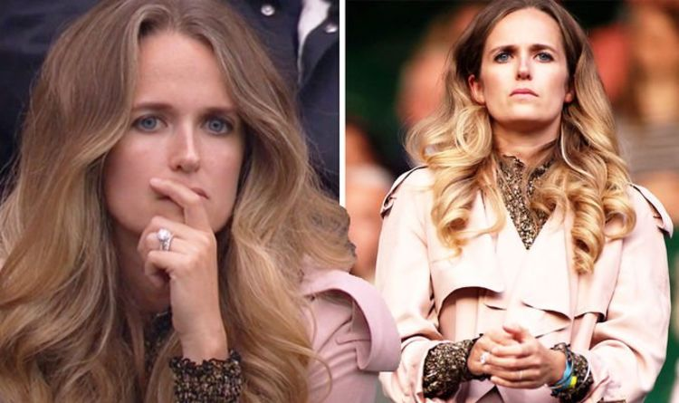 Kim Murray steals the show as she cheers Andy Murray through his epic four-hour comeback
