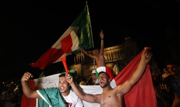 French, Italian and German newspapers stir the Brexit pot as 'Europe cheers on Azzurri'