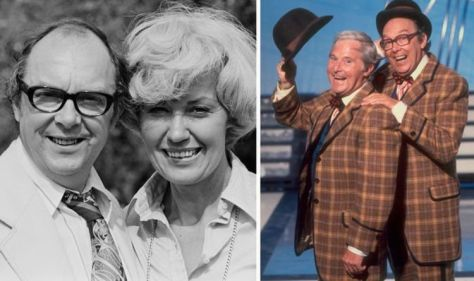 """Eric Morecambe's Widow reveals the concerns that he faced before his death: """"He'd have been over the moon."""""""