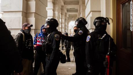 Capitol Police officers have quit, morale is low and the sweeping reforms seen as necessary to prevent another attack remain elusive