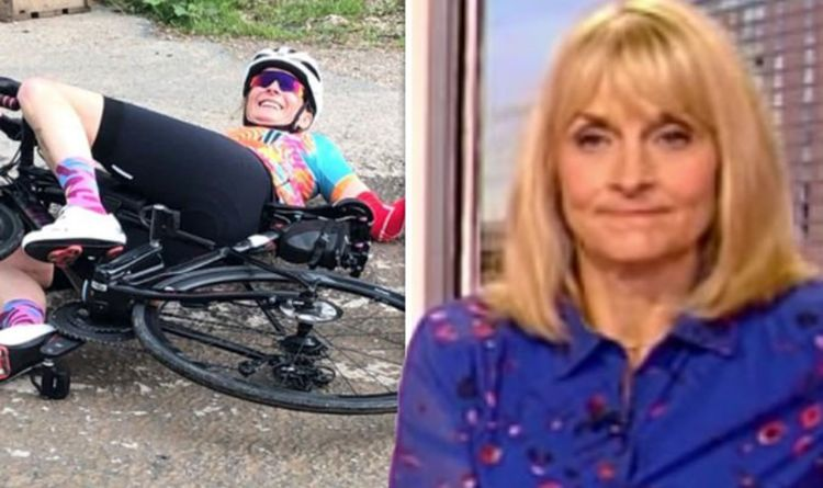 Louise Minchin: BBC star shares injury update after bike accident 'So glad I am not alone'