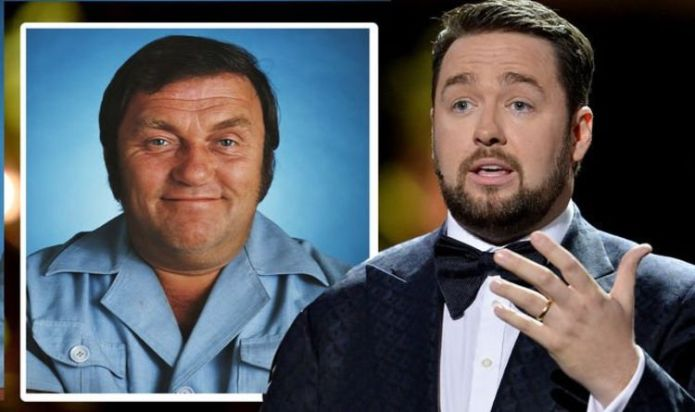 """Jason Manford was moved by Les Dawson's words to his wife: """"He would have loved you."""""""
