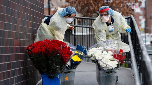 New York City honors COVID pandemic essential workers