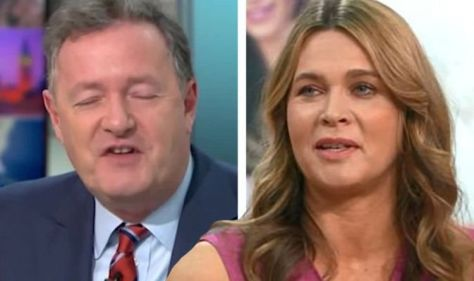 Piers Morgan says that Celia, his wife, has reached a tipping point after his Covid diagnosis
