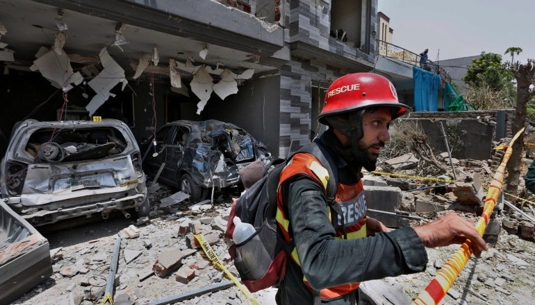 Pakistan NSA accuses India of orchestrating Lahore bomb attack