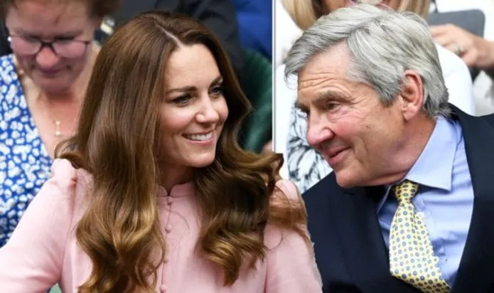 Rare glimpse at Kate Middleton's relationship with dad Michael