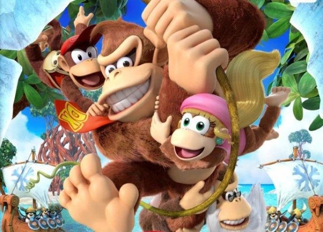 Several rumours pointed to a brand-new Donkey Kong game