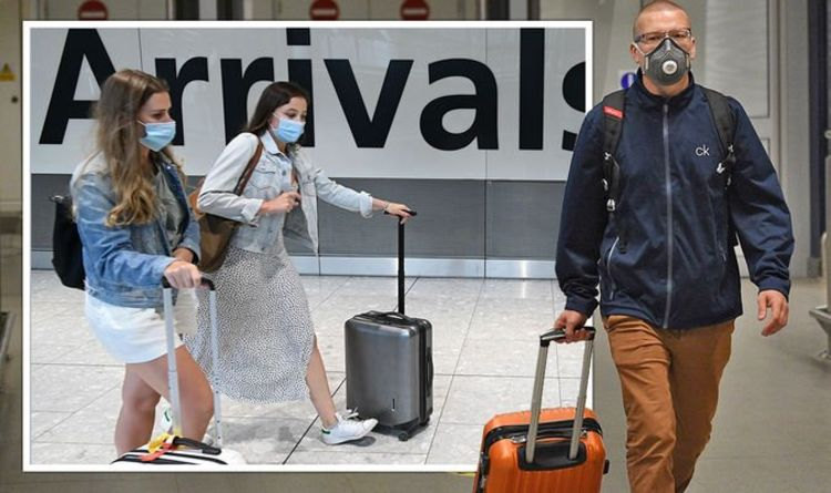Britons should be 'prepared' to pay £1,750 when returning from an amber country holiday