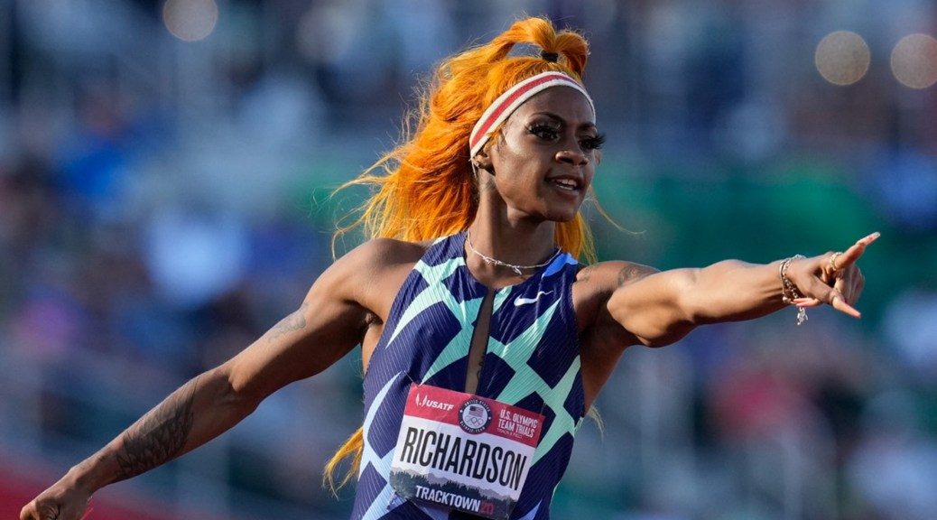 Reports: Sha'Carri Richardson, who won 100-meters at trials, may be out of Olympics