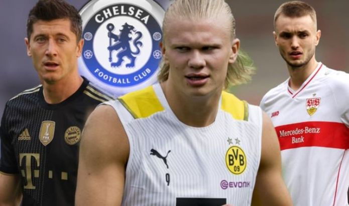 Chelsea is open to two Erling Haaland transfers, while Thomas Tuchel is keen on PS34m.