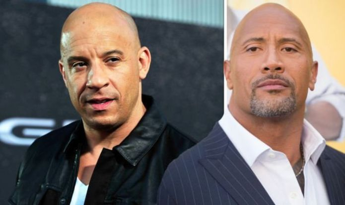 Fast and Furious' star Dwayne Johnson laughed at Vin Diesel critiques
