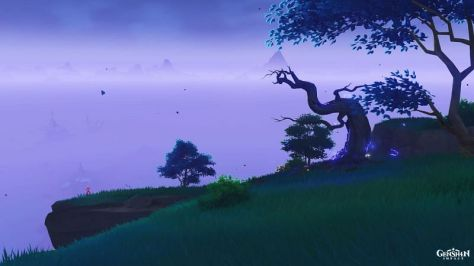 This tree might be harder to find than usual (Image via Genshin Impact Wiki)