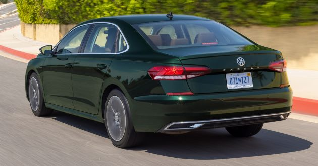 2022 Volkswagen Passat Limited Edition launches in the USA Only 1,973 units; sedan assembly set to end