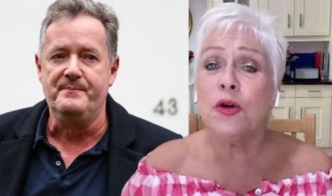 Piers Morgan is criticized by Denise Welch for his 'keeping quiet' about the Covid diagnosis.