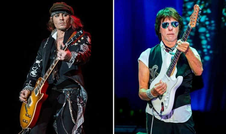 Johnny Depp is'recording music with Jeff Beck to make a comeback.'