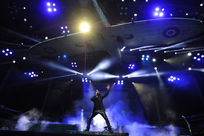 Iron Maiden's last move through Buenos Aires was in October 2019 with a disastrous show at the Velez Stadium.  photo juano tesone