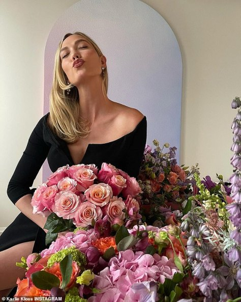 Grateful: Karlie reminisced on the 'most profoundly awe inspiring' year as she expressed gratitude in a birthday post shared on Instagram