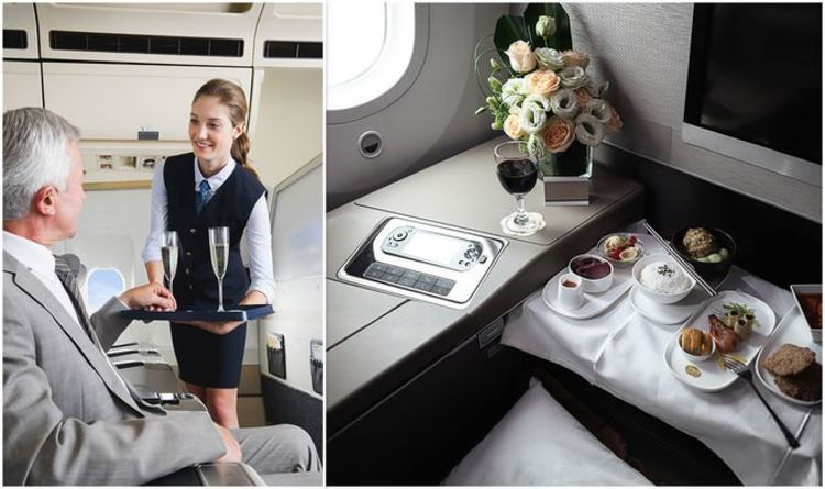 There are five ways you can get free upgrades and special services. Crew can do miracles on flights