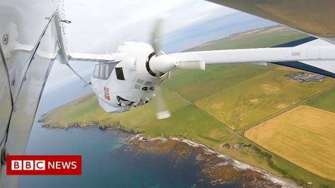 The trial of an electric powered aircraft in green aviation has been successful Orkney