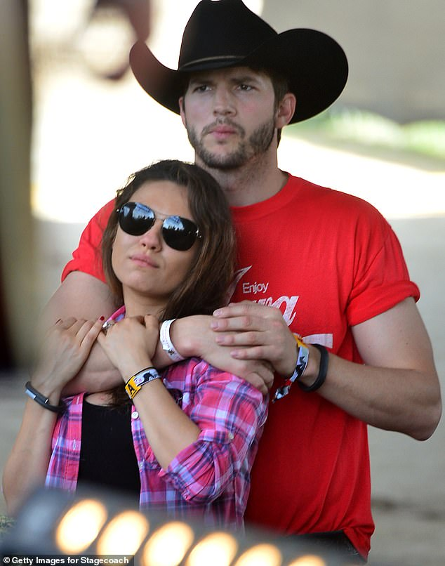'Slits and t**s': Ashton Kutcher and Mila Kunis kicked off the public conversation about celebrity hygiene during a podcast appearance last month