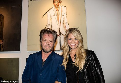 Lover: The rocker is also known for having dated supermodel Christie Brinkley (Pictured in 2015)