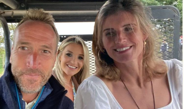 Amanda Owen has a lot of fun in a plunging, summer dress Snap with Ben Fogle, your co-star